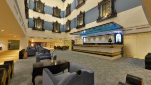 Lobby at the Hotel Marvel