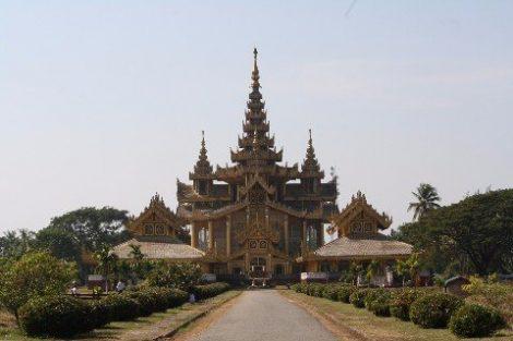 Kanbawzathadi Palace in Bago