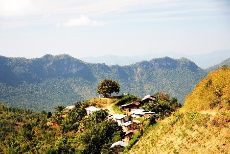 Kalaw is best known as a trekking centre