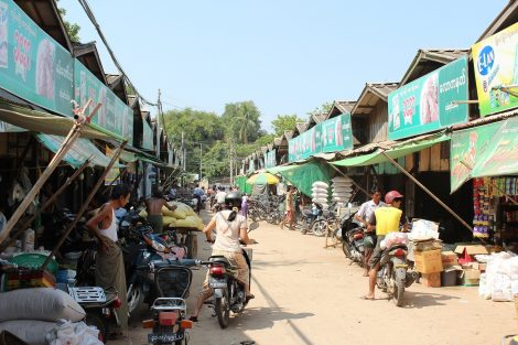 Myawaddy is a thriving border town