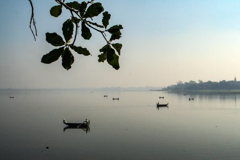 Mawlamyine is located on a river delta