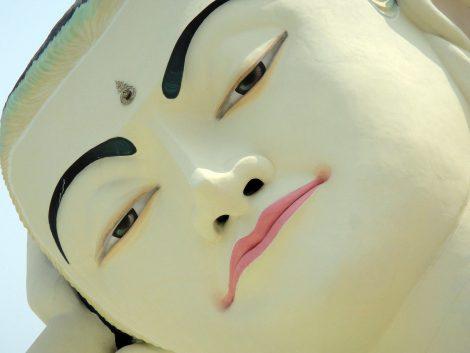 Mya Tha Lyaung Reclining Buddha in Bago
