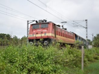 Train service in Southern India
