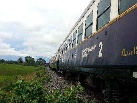 Train to Sihanoukville