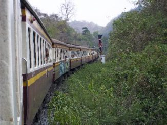 Train service in Thailand