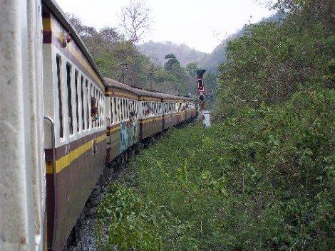 Train service in Thailand