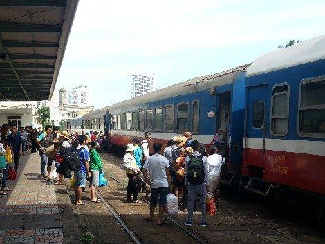 Train service in Vietnam
