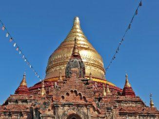 Dhammayazika Pagoda near Bagan