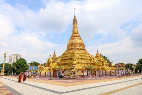 Ein Daw Yar Pagoda in Mandalay