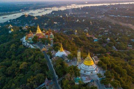 Sagaing Hill near Mandalay
