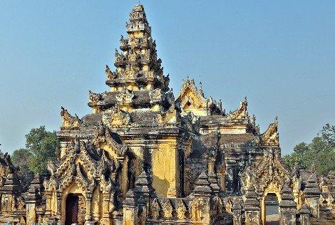 Maha Aungmye Bonzan Monastery, Mandalay