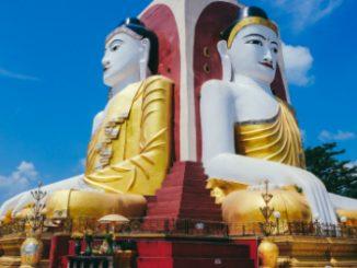 Kyaikpun Paya Pagoda in Bago