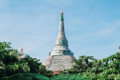 Werawsana Jade Pagoda near Mandalay