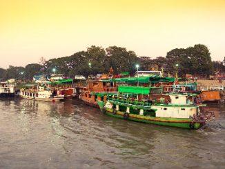 Ayeyarwady River Boat